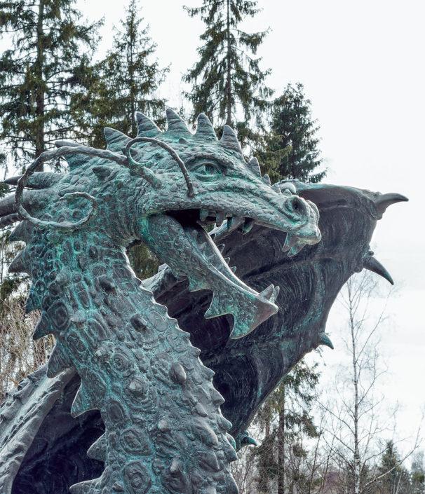 Олег Закоморный. Дракон