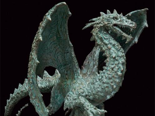 Dragon. Preparatory Model. 2014