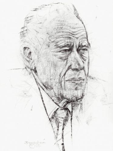 Gléb Losino-Losinskiy. Mine de plomb sur papier. 62×43. 2008