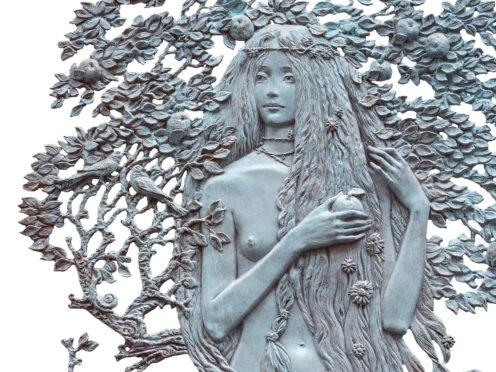 Relief Jardin d'Éden (Ève)