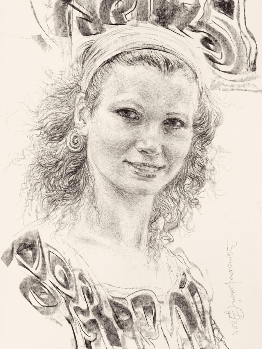 Memories of Florence (Portrait of Irina)