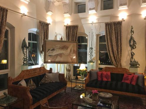 Персональная выставка в резиденции посла Евросоюза в Москве