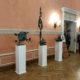Exposition de sculpture et dessin dans le foyer de la Chambre des officiers détachés du 154 devision des commandants du régiment Préobrajensky