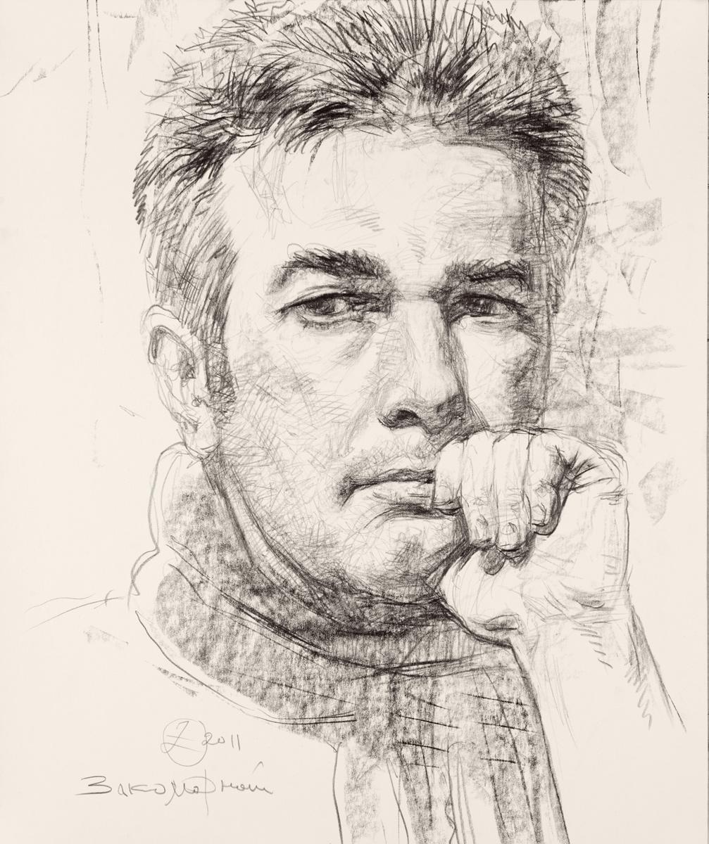 Олег Закоморный. Автопортрет