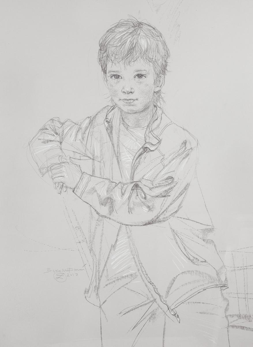 Олег Закоморный. Лёня