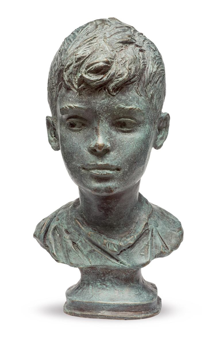 Oleg Zakomorny. Portrait of Leonid