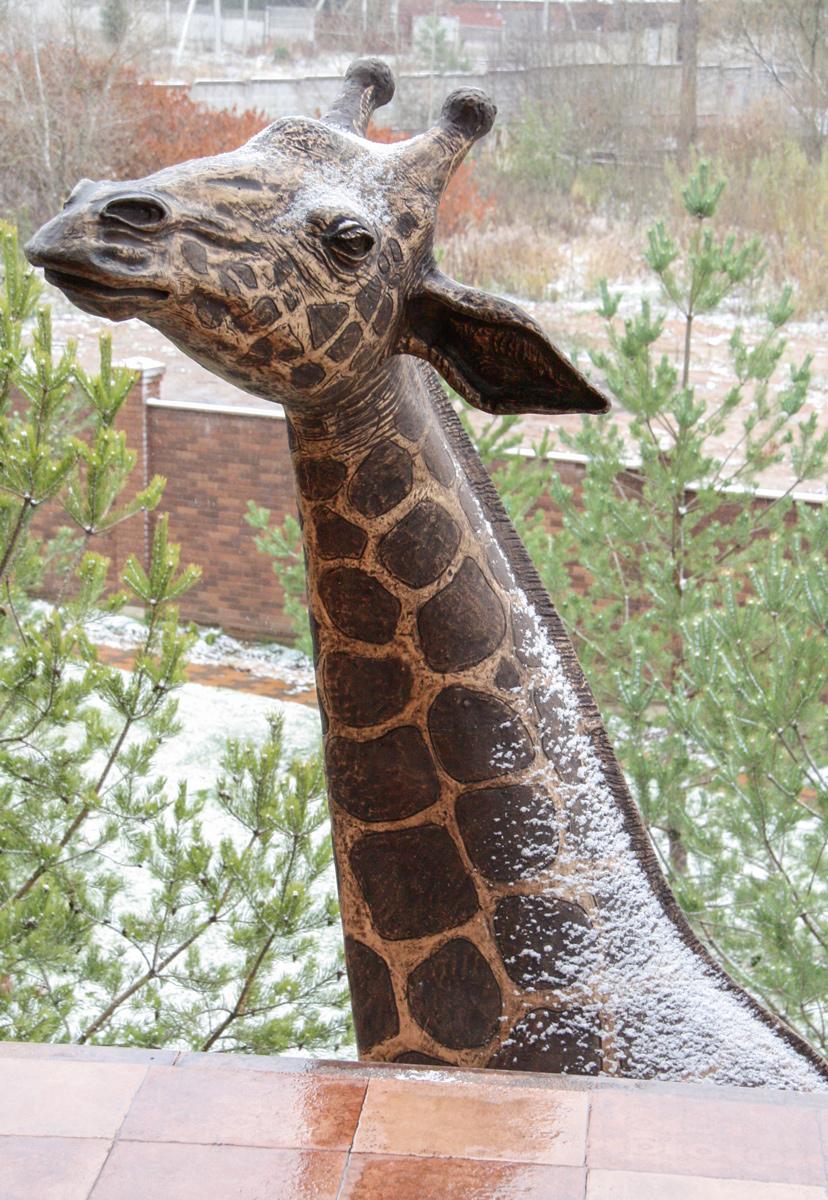 Олег Закоморный. Жирафа