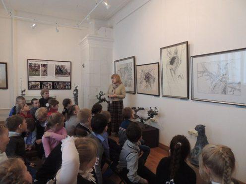 Персональная выставка Два пространства в творчестве скульптора Олега Закоморного, Галичский краеведческий музей. Костромская область