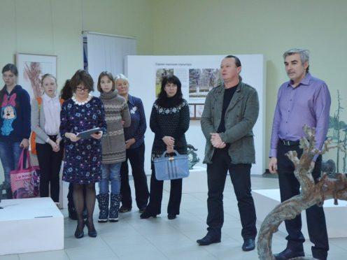 Персональная выставка «Два пространства в творчестве скульптора Олега Закоморного» в галерее Костромского музея-заповедника