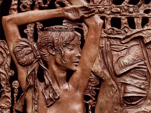 Oleg Zakomorny. Breath of Zeus (Danae). Relief