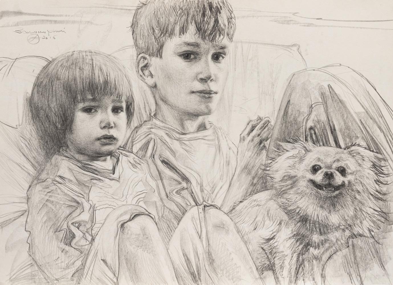 Oleg Zakomorny. Brothers. 2016