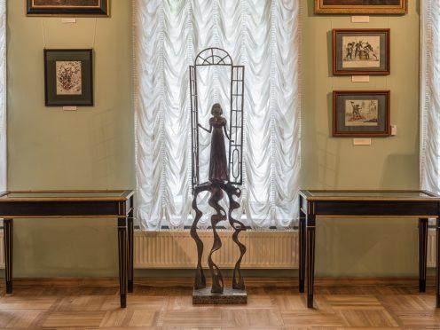 Le Musée d'Etat L.N.Tolstoï, Moscou. Natacha Rostov