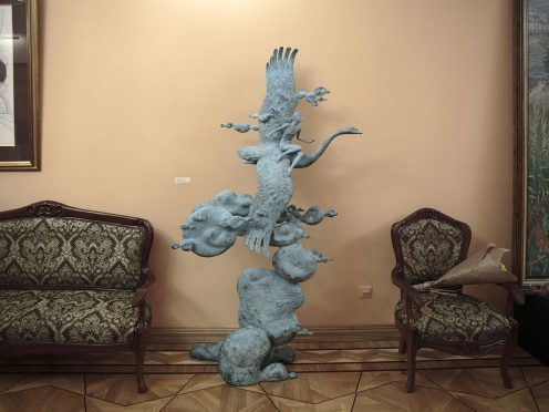 Открытие выставки скульптурных композиций и графики Олега Закоморного «Пробуждение»28 марта 2018