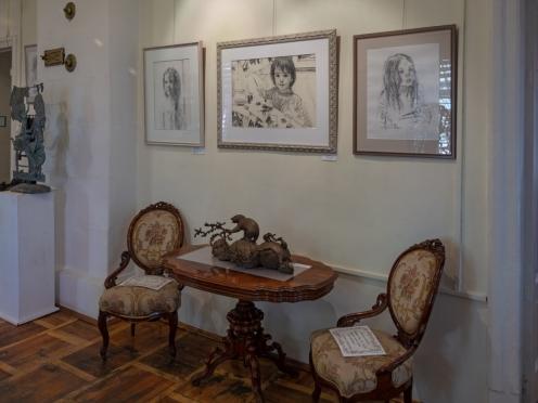 Выставка Олега Закоморного «Дети в искусстве» в музее «Садовое кольцо». «Ночь музеев» 19 мая в 22:30