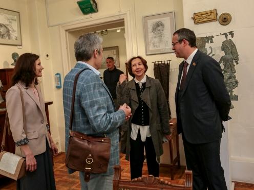 Ирина и Олег Закоморные, Ольга Иванова-Голицина и Алексей Шапошников