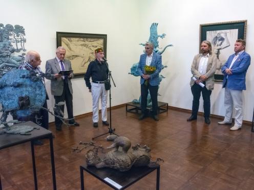 Открытие выставки «Очень человеческое» в РАХ, 10 июня 2018