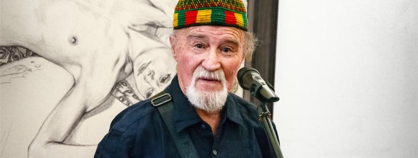Климовицкий на выставке Олега Закоморного