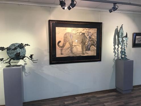 Открытие выставки Олега Закоморного в городе Сарове