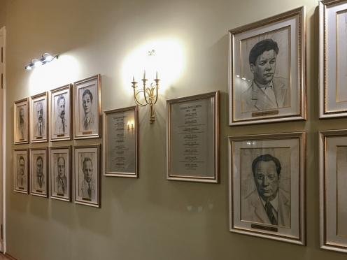 In 2018 the gallery of portraits of the Moscow mayors was replenished with sixteen portraits of chairmen of the Moscow Soviet of People's Deputies.