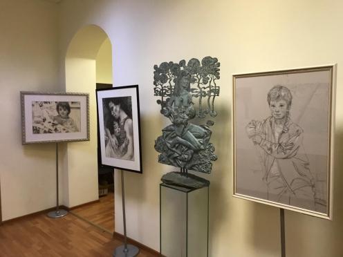 Закоморный. Выставка Олега Закоморного, приуроченная к 30-летию ИГКЭ
