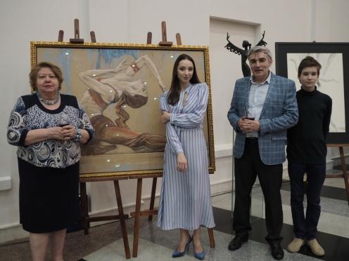 Олег Закоморный получил приз «Душа танца» в номинации «Рыцарь танца»