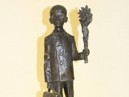 Знаменитый скульптор Олег Закоморный представил выставку своих работ в Совете Федерации