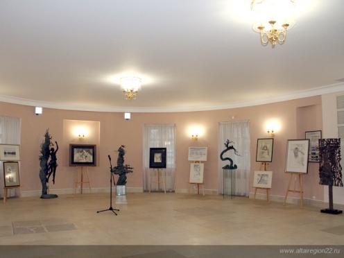 Открытие выставки Олега Закоморного в Мосгордуме