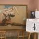 Открытие выставки Олега Закоморного в Мосгордуме 9 декабря 2019 года