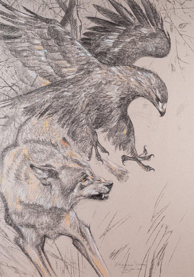 Олег Закоморный. Орел и волк