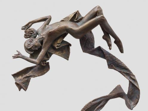 Олег Закоморный. Персональная выставка скульптуры в Центре имени А.Н. Бакулева